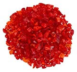 American Fireglass Mandarin Recycled Fire Pit Glass - Small (12-18Mm), 55 lb. Bag
