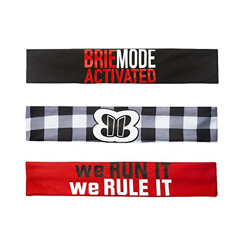 Brie Mode Activated Bella Twins 3 Piece WWE Authentic Headband Set