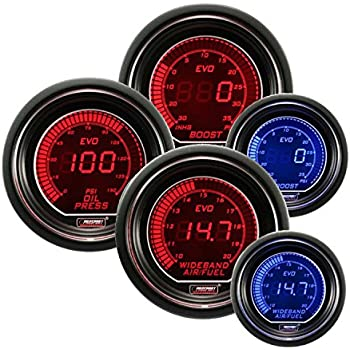 Fabulous Amazon Com Volt Gauge Electrical Red Blue Evo Series 52Mm 2 1 16 Wiring 101 Garnawise Assnl