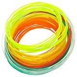 Gixmo 4 colours Starter Kit 17ft PLA Filament Set for 3D Printing Pen 5*4=20MTR