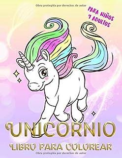 Libro Para Colorear Unicornios Para Niños Más De 30 Diseños
