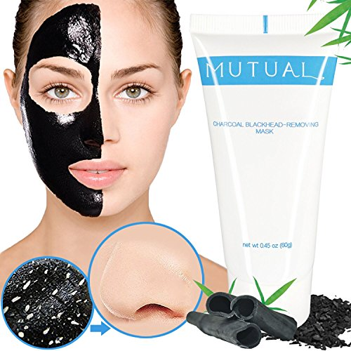 Large Product Image of Blackhead Remover Mask, Blackhead Mask, Natural Bamboo Charcoal Peel Off Mask, Purifying Deep Peel-off Face Mask, Black Mask for Blackhead, Whitehead, Acne, Oil-Control