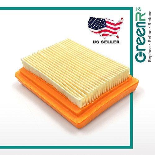 GreenR3 Pre-Motor Air Filters Lawn Mowers Trimmers For Stihl 4134 141 0300 fit SP90 FS120 BT120C KM130 SP200 FS310 BT130 KM130R SP481 SP451 Model Series PN and more 1-PACK (Sp200 Series)