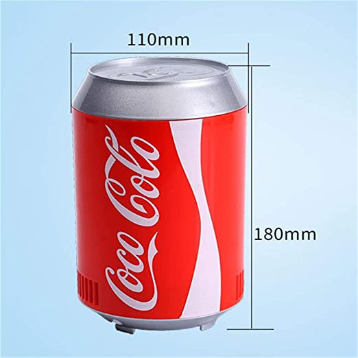 Honoen Mini refrigerador de Lata de Coca Cola, refrigerador ...