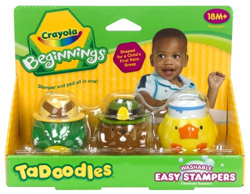 Crayola TaDoodles Washable Stampers Crocodile