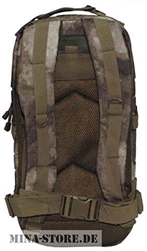 MFH US Rucksack, Assault I, Laser, HDT-camo