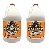 Gorilla 6231501 Gallon Wood Glue Natural Color (2-Pack)