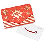 Amazon.ca $50 Gift Card in a Mini Envelope (Red and Gold)