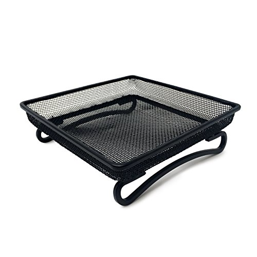 Gray Bunny GB-6889 Ground Bird Feeder Tray for Feeding Birds That Feed Off The Ground | Durable and Compact Platform Bird Feeder Dish Size 7 x 7 x 2 inches