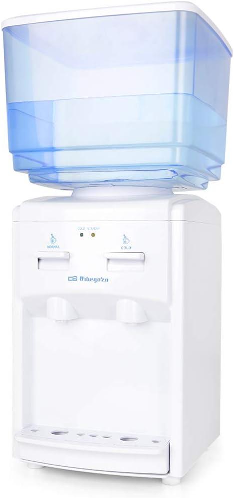 Orbegozo DA 5525 5525-Dispensador de agua fría, 65 W, 7 litros, Color blanco
