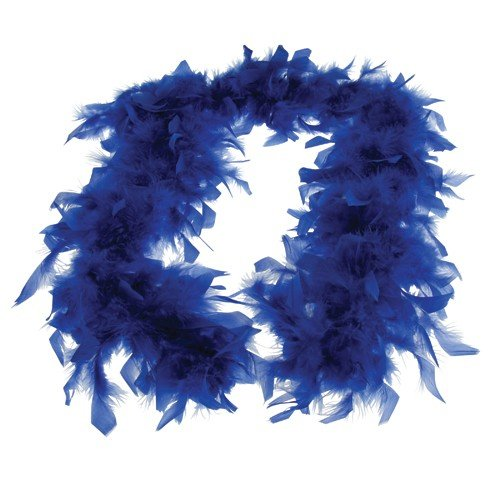 FEATHER BOA/BLUE (CP), Sold By Case Pack