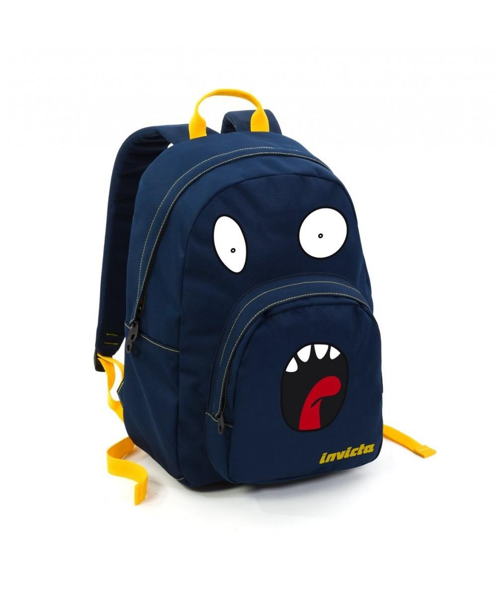 Invicta 206001411 backpack american ollie face pack invicta bluee