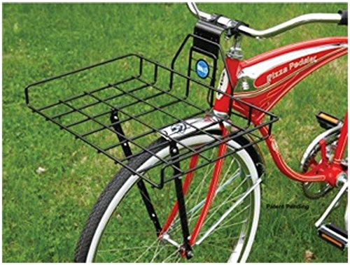 - Wald 257 Multi-Fit Front Pizza Box Bicycle Basket