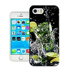 LarryToliver Luminous Style Hard Cheap unique Customizable Cocktail glass Skin Back Case Cover For iphone 5/5s