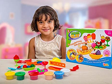 Play Baby Toys DIY Super Soft Clay Collection Taking Creativity To A New Level KidsVoiceToys Starter Kit Mini Bake Shop