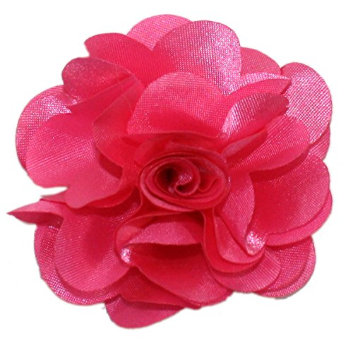 Ted and Jack - Solid Silky Classic Flower Lapel Pin Boutonniere (Hot ()