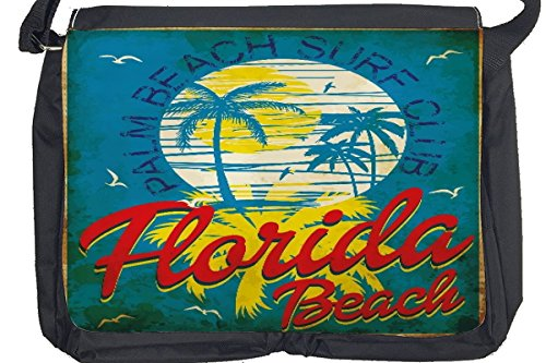 Borsa Tracolla Giramondo Florida Beach Stampato