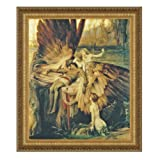 Design Toscano The Lament for Icarus, 1898 Canvas Replica Painting: Grande