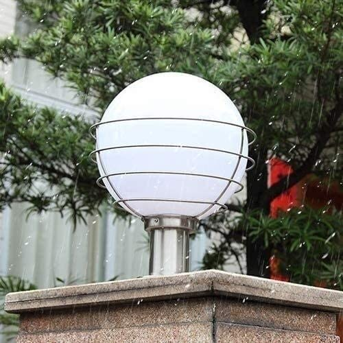Outdoor Waterproof Post Lantern Waterproof IP65 Villa Gate Post Light Home Aisle Garden Column Tabletop Lamp for Terrace Swimming Pool Exterior