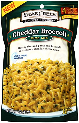 Bear Creek Rice Mix, Cheddar Broccoli, 10.8 Ounce (Pack of 6)