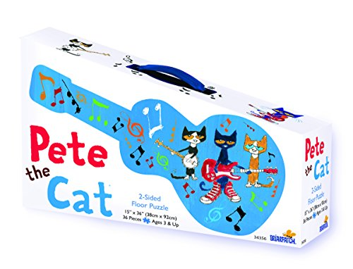 Pete the Cat 2-Sided Floor Puzzle ()