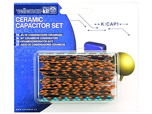 Multi-Colour Velleman K//CAP1 Ceramic Capacitor Set
