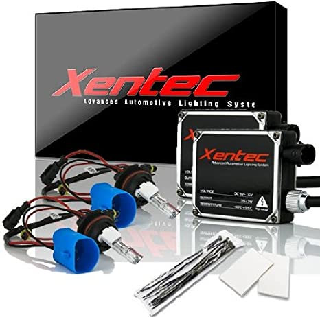 Xentec Xenon bulb H7 6000K x 1 pair bundle with 2 x 35W Digital Slim Ballast Ultra White