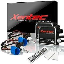 XENTEC 9007(HB5) Hi/Lo 6000K AC current Standard Size Digital Ballast HID Xenon Kit w/Hi-beam Halogen (Ultra White)