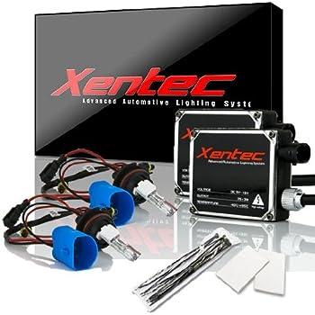 XENTEC 9007/9004/HB5 8000K Hi/Lo HID Conversion Kit w/ Hi-beam Halogen (Iceberg Blue)