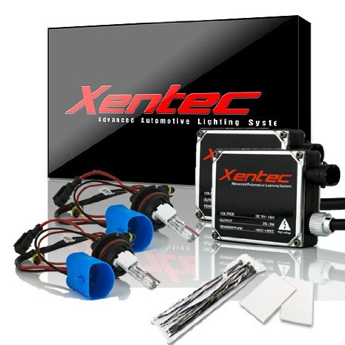 Xentec 9007 6000K high/low HID kit (compatible with 9004/hb5, high beam halogen, Standard size ballast, Cool White)