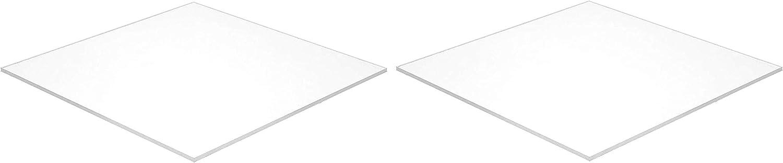 1//8 Thick Falken Design BL2108-1-8//1212 Acrylic Blue Sheet Translucent 2/% 12 x 12