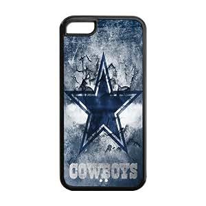 Custom Dallas Cowboys NFL Series Back Cover Case for iphone 5C JN5C-1147