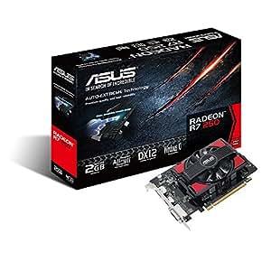 ASUS AMD Radeon R7 250 2 GB 128-Bit DDR5 Graphics Cards (R7250-2GD5)