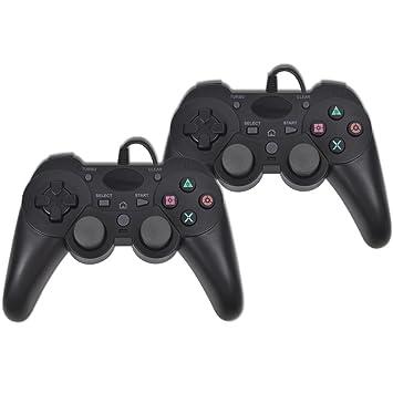 2 Stück Controller verdrahtete Spiel-Pro: Amazon.de: Computer & Zubehör