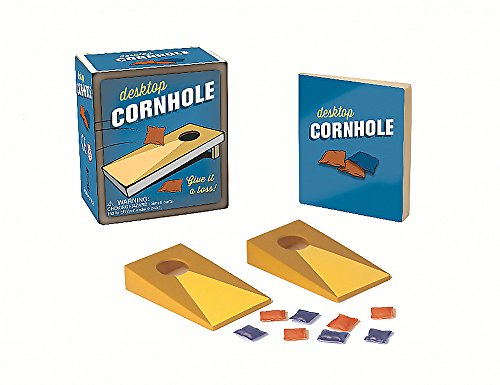 - Desktop Cornhole: Give it a toss! (Miniature Editions)