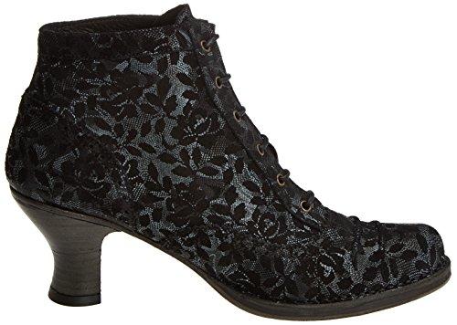 Damen Ebony Rococo S865 Stiefel Floral Fantasy Neosens Kurzschaft 6wdP7qca