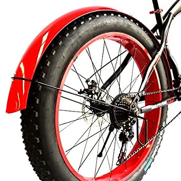 ELYQBDL 2 Piezas/Lote de Bicicletas Fender Fat Bicicleta de ...