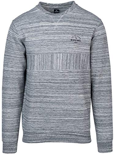 Crew Pewter Mar Sweatshirt Captain Curl Grey Rip Homme q6fgxw