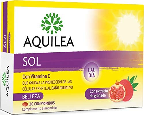 Amazon.com : Aquilea Sol 30 Tablets - Prepare Your Tan ...