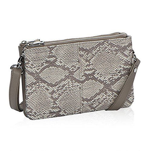 Thirty One Street Style Purse in Putty Snake Pebble Pattern - No Monogram - 8082