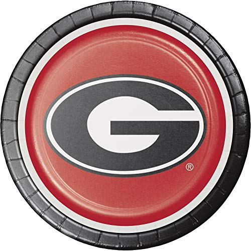 Creative Converting University of Georgia Dinner Plates, 24 ct -