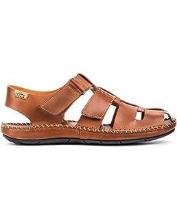 Pikolinos En Sandales Chaussures Alcudia W1l Plates Cuir 1aF1wCq