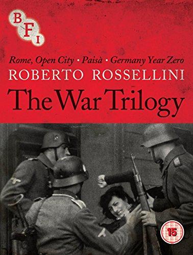 Roberto Rossellini (The War Trilogy) - 3-Disc Box Set ( Roma città aperta / Paisà / Germania anno zero ) ( Rome, Open City / Paisan / Germany [ NON-USA FORMAT, Blu-Ray, Reg.B Import - United Kingdom ]