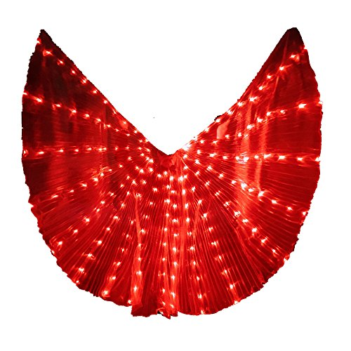 Light Up Outfits - LED Isis Wings Glow Light Up