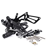 ETbotu Motorcycle CNC Aluminum Footpegs Rearset Modified Elevated Set for Motorbike CBR600RR07-08