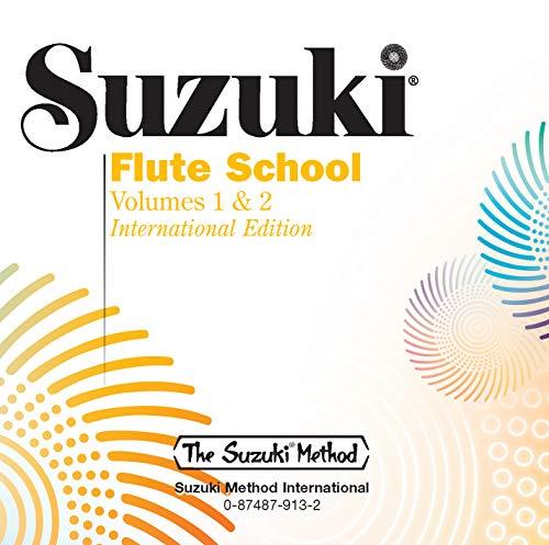 Suzuki Flute School, Volume 1 & 2 (CD) (The Suzuki Method Core Materials)