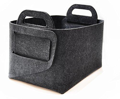 """[해외]접이식 스토리지 바구니 함, 14 """"X10""""X9 """"크기 - 다기능 가구 보관함으로 사무실, 침실, 옷장, 아동 장난감, & amp; /Foldable Storage Basket Bin,Size in 14\u201cX10\u201dX9\u201c-Multifunctional Household Storage Bin To Organize O..."""