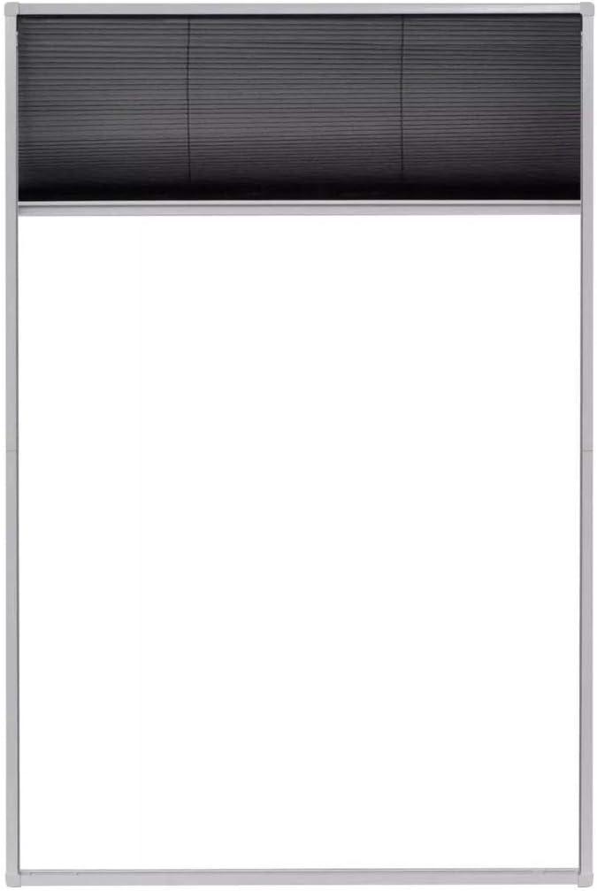 vidaXL 142610 Mosquitera con marco de aluminio 60 x 80 cm color blanco