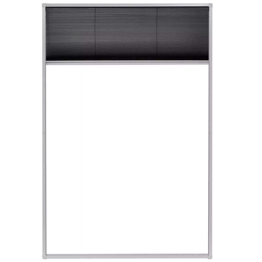 vidaXL Finestra a schermo anti-insetti 160 x 110 cm