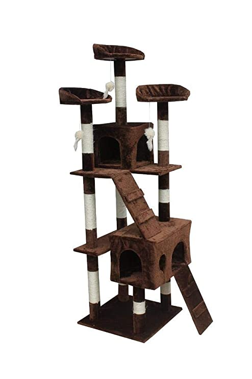 Daeou Árbol para Gatos rascador Gato árbol Pet suministra Muebles de Gato 60 * 50 *